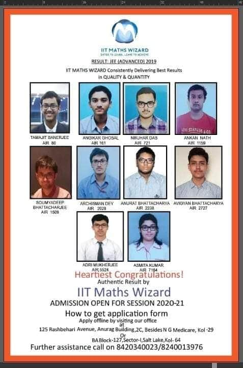 JEE ADVANCED 2019 RESULT